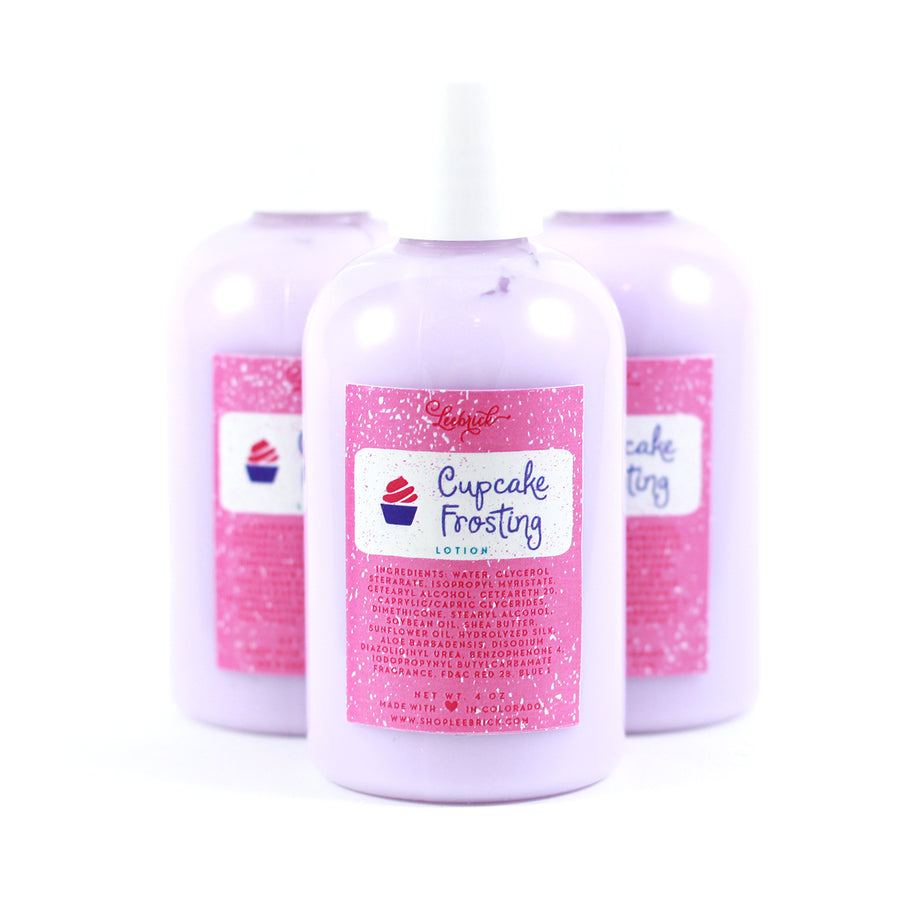Cupcake Frosting Lotion