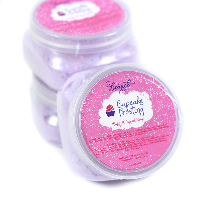 Cupcake Frosting Fluffy Whipped Soap