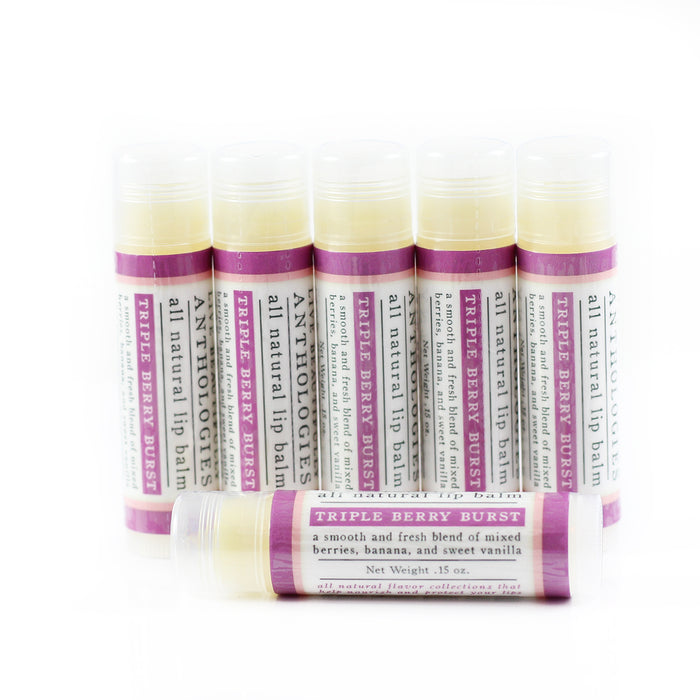 Triple Berry Burst Lip Balm