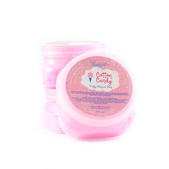 Cotton Candy Fluffy Whipped Soap