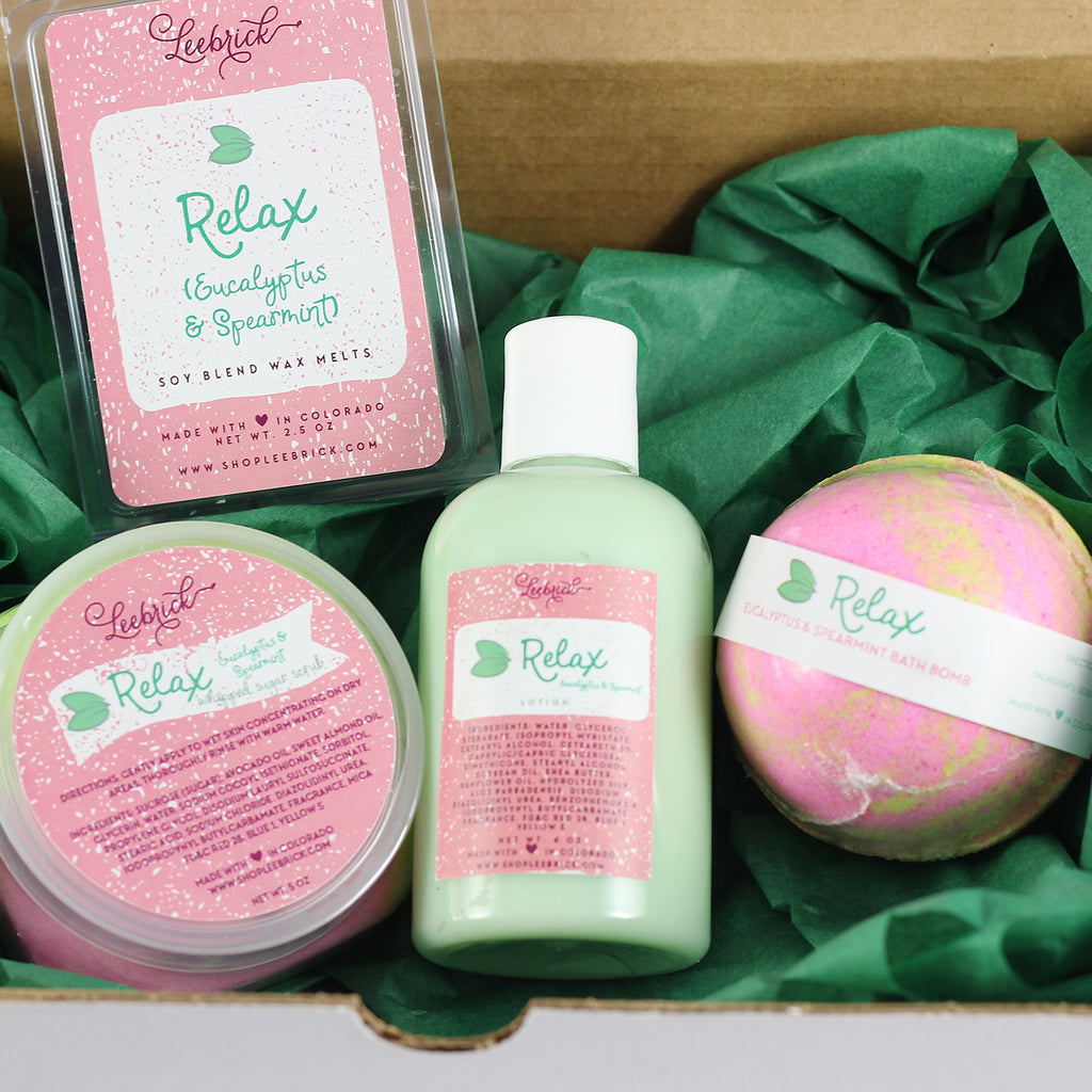 Relax Spa Gift Box Set