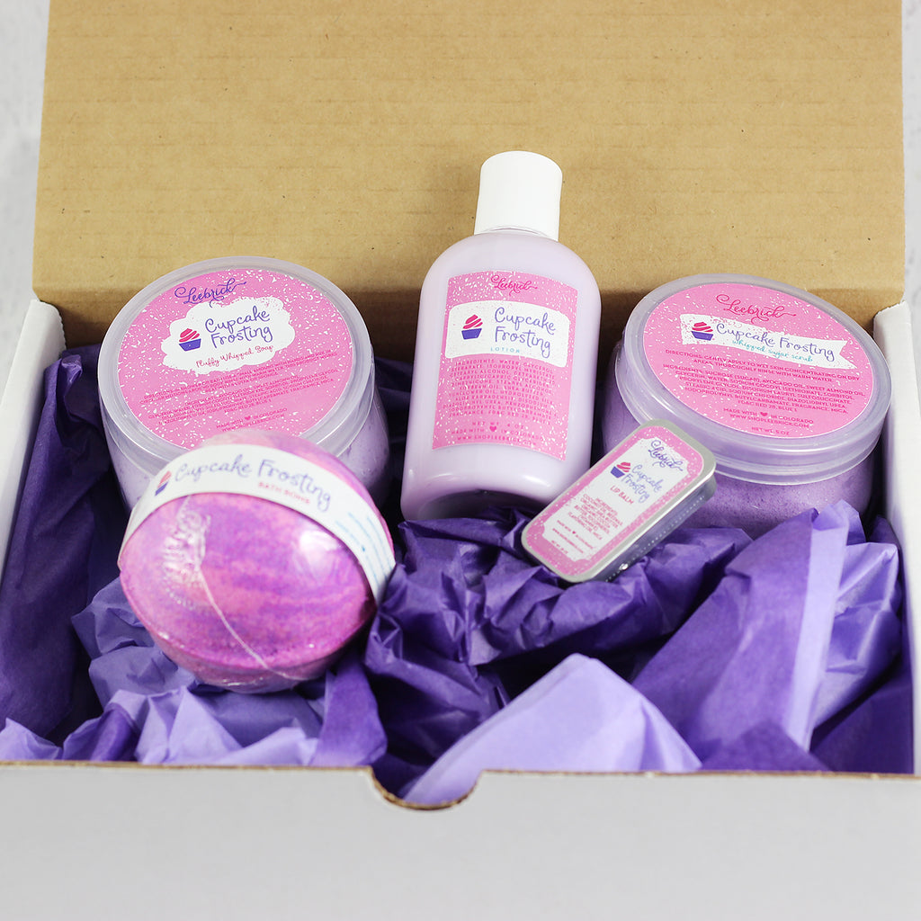 Cupcake Frosting Spa Gift Box Set