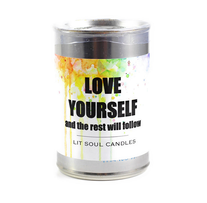 Love Yourself Inspirational Candle - 15.5 oz