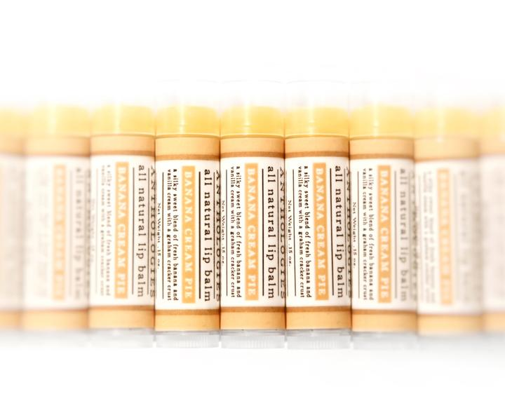 Banana Cream Pie Lip Balm