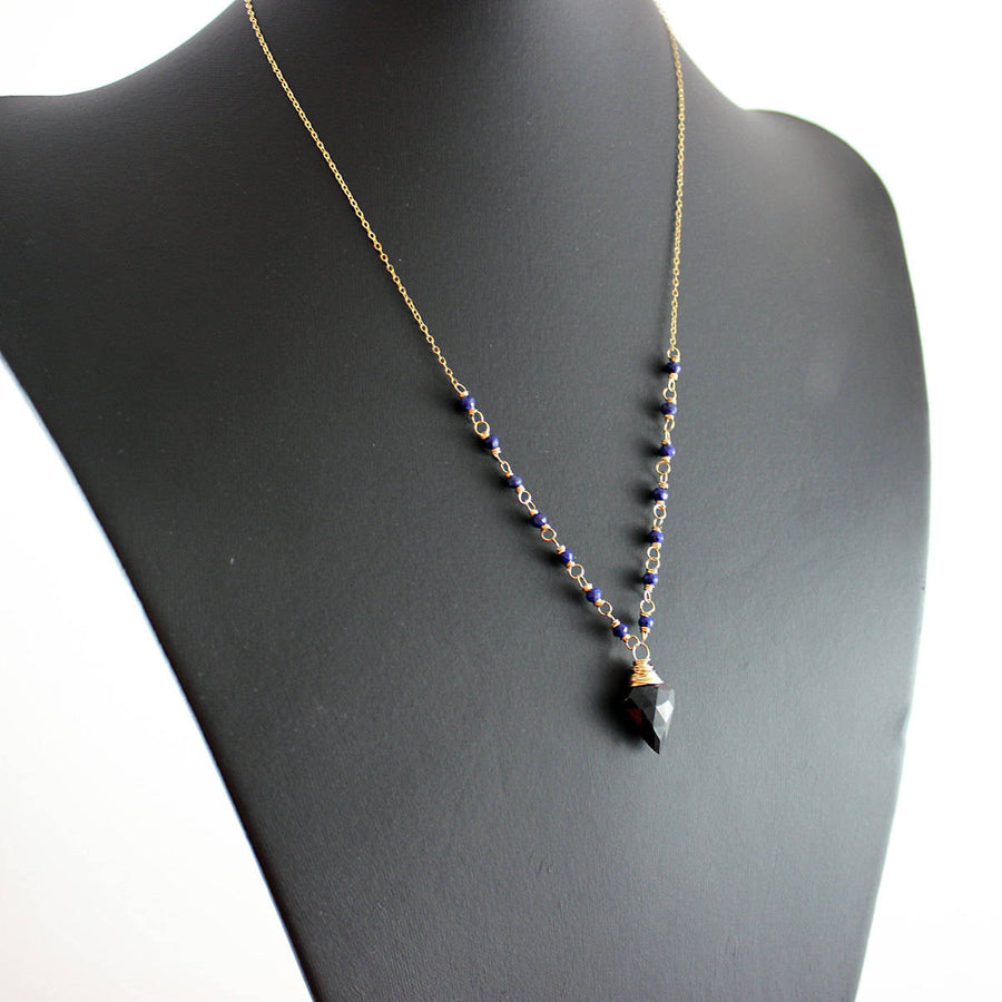 As Worn on The Originals - Black Spinel Necklace