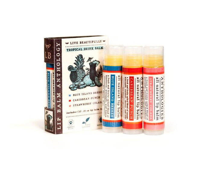 Tropical Drink Lip Balm Set