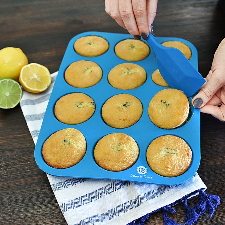 Silicone Muffin Pan Set -Blue