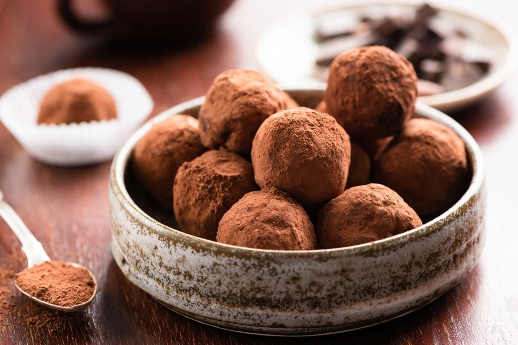 Vegan Dark Chocolate Truffle Recipe