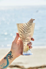 Hand raised sterling silver chalice