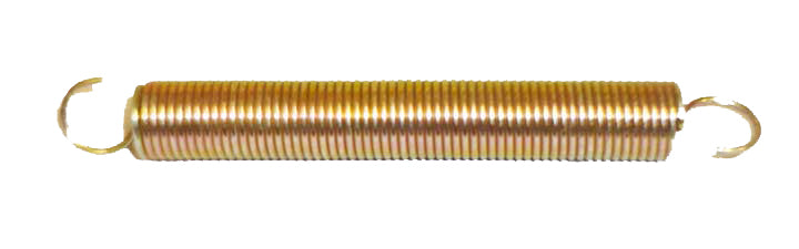 Throttle and Brake Return Spring  Spring Length: 60mm Overall Length with Hooks: 80mm