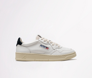 AUTRY - SNEAKERS LOW IN PELLE BIANCO - TAG BLU
