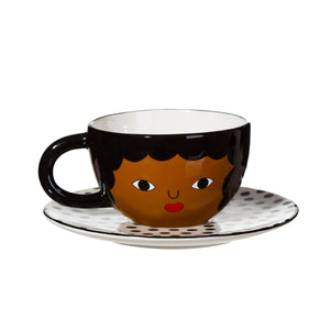 CHANTELLE TEA CUP AND SAUCER SET