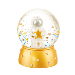 OUTER SPACE SNOW GLOBE