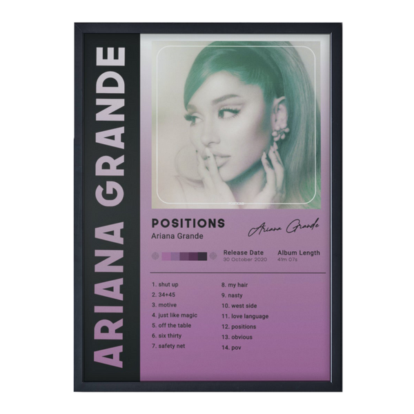 POSITIONS - ARIANA GRANDE