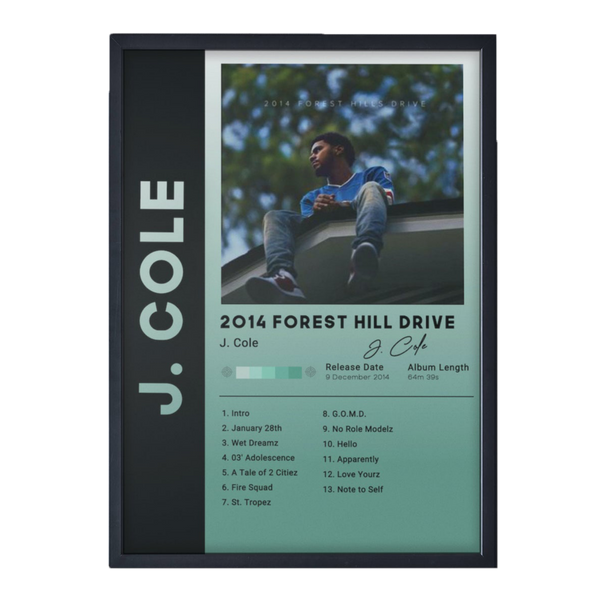 FOREST HILL DRIVE - J. COLE - Custom Debuts