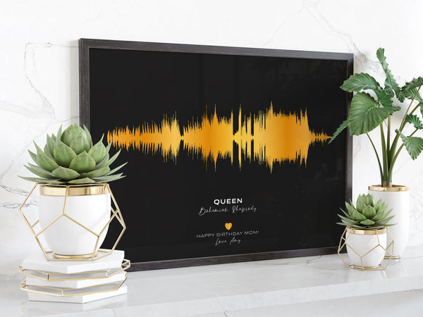 Custom Sound Wave Print - Custom Debuts