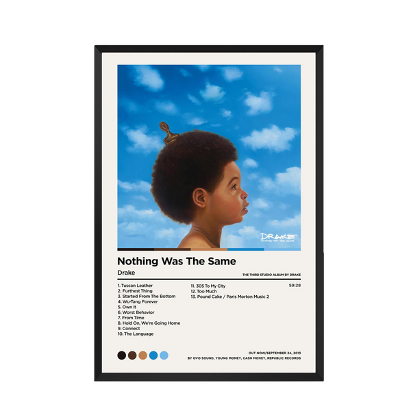 NOTHING WAS THE SAME - DRAKE - Custom Debuts