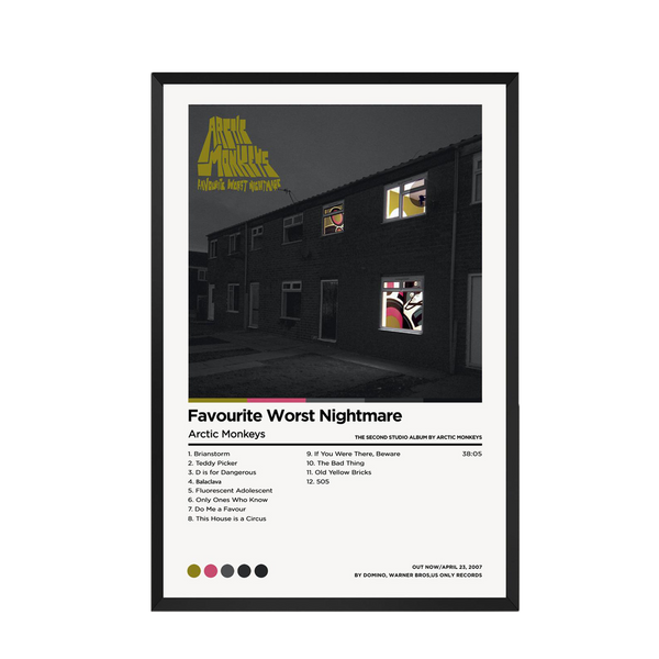 FAVOURITE WORST NIGHTMARE - ARCTIC MONKEYS - Custom Debuts