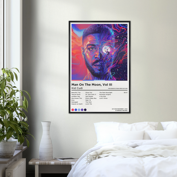 MAN ON THE MOON VOL III - KID CUDI - Custom Debuts