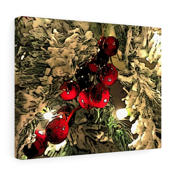Christmas Berry Canvas Giclée 14