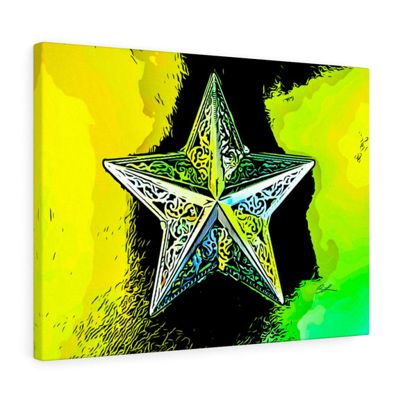 Bright Star Canvas Art 24