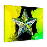 "Bright Star Canvas Art 24"" x 18"" Gallery Wrapped Giclée Print"