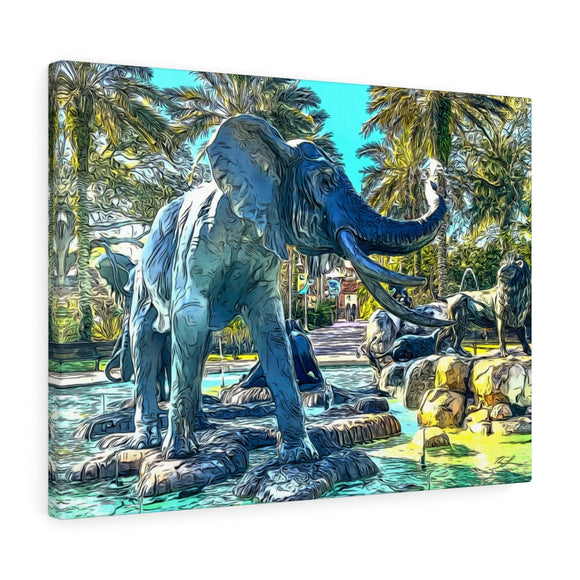 Elephant Canvas Wall Art 24
