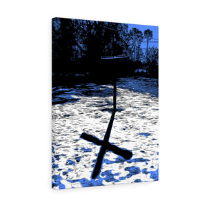 "Shadow of the Cross Canvas Giclée 18"" x 24"" Gallery Wrapped Print"