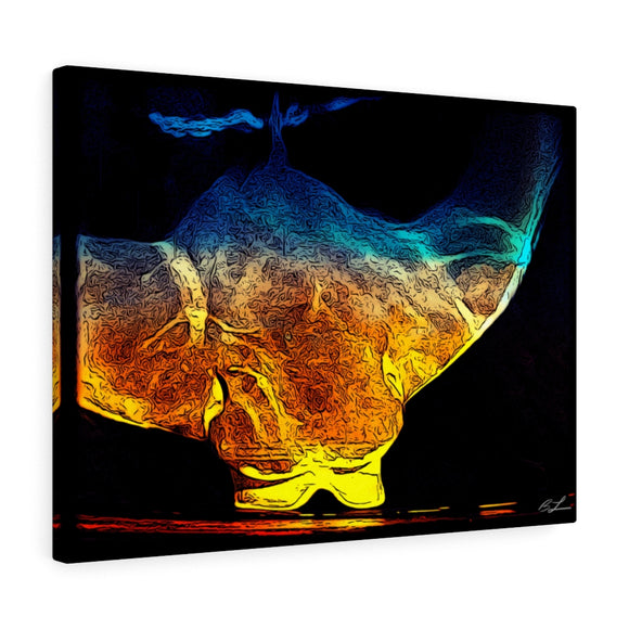 Stingray Canvas Giclée 24