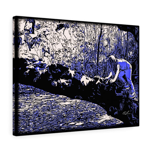 New Orleans Tree Climbing Canvas Giclée 24