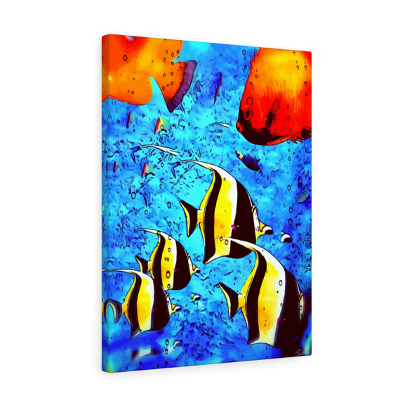 Angelfish Canvas Wall Art 18