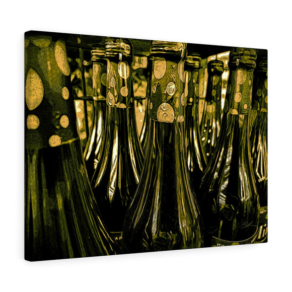 Bottles Canvas Artwork 24