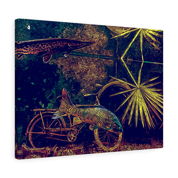 Bayou Fish Canvas Wall Art 24