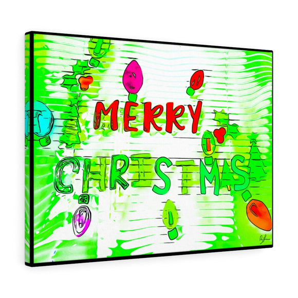 Merry Christmas Canvas Artwork 24