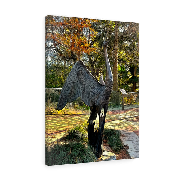 Whooping Crane Canvas Artwork 18