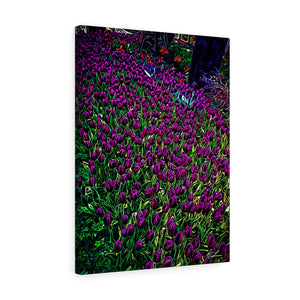 "Tulips Canvas Giclée 18"" x 24"" Gallery Wrapped Print"