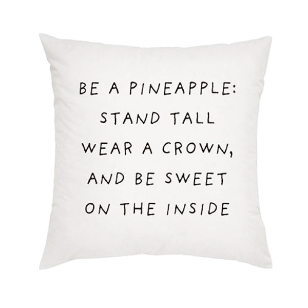 "18"" Cushion Cover Pineapple C"
