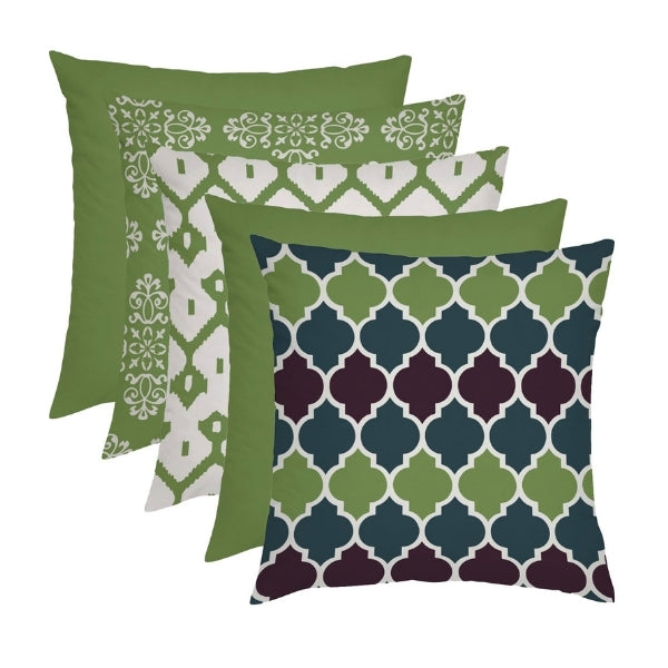 "18"" Cushion Covers 5 Piece Moroccan Set"