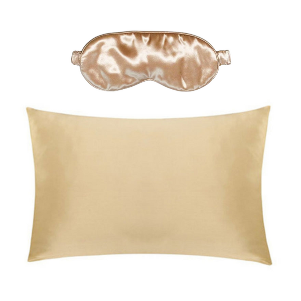 Pillow Cases and Eye Masks Bundle - 22mm