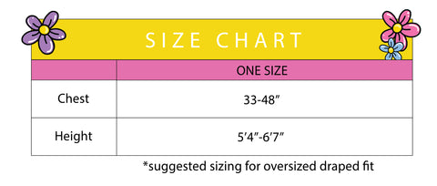 Robe Size Guide