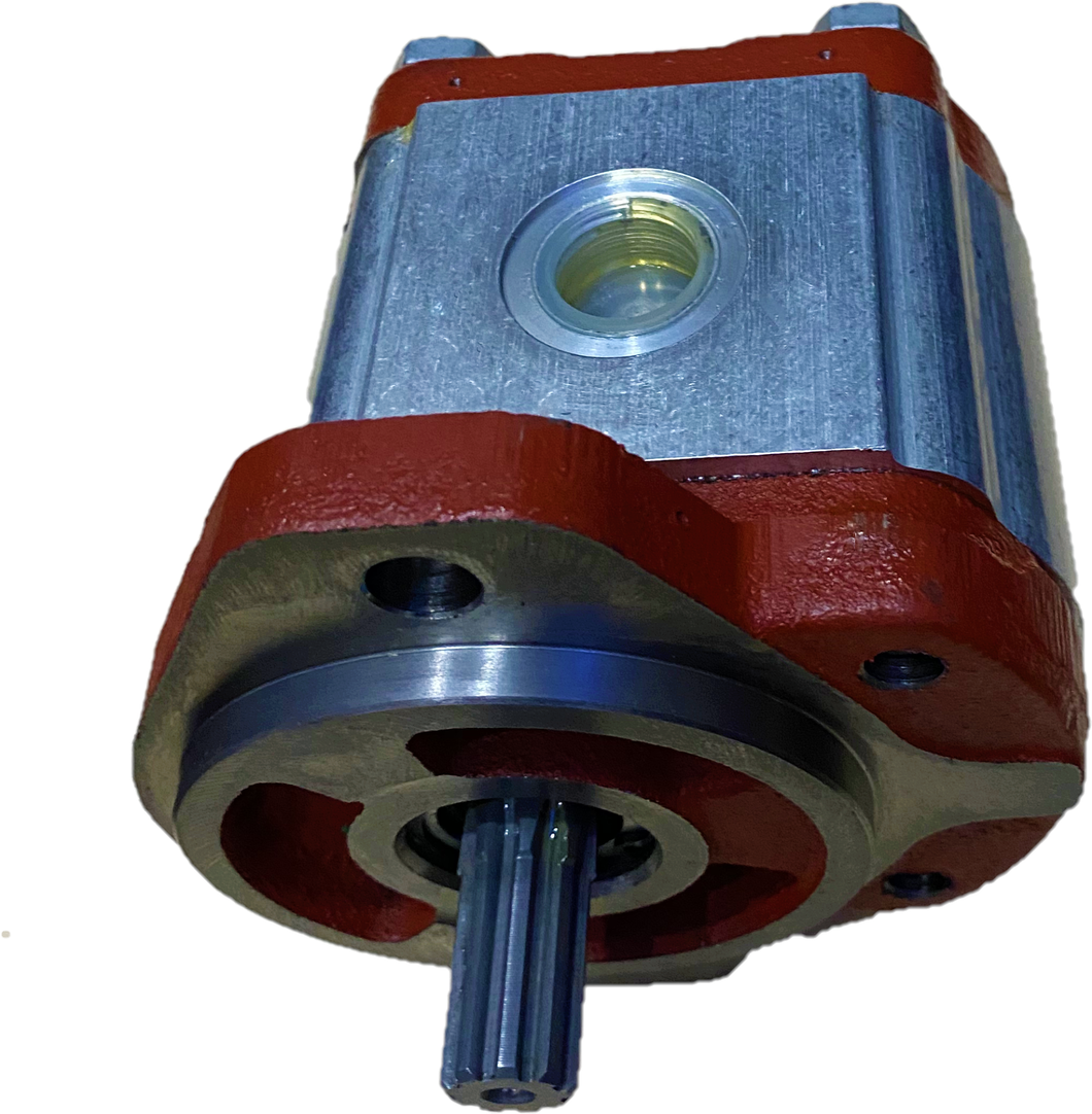Gear Pump Salami 2PE26D-G52S2, Group 2, SAE A Z9, 26 cc, GAS ports, CW