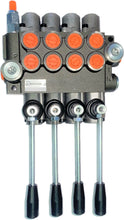 Load image into Gallery viewer, Monoblock Directional Control Valve, 4 Spool, 40 lpm, Closed Centre Spool 4P401A1A1A1A1GKZ1