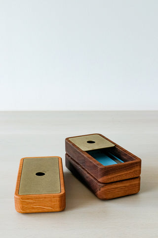 Wood Pencil Box