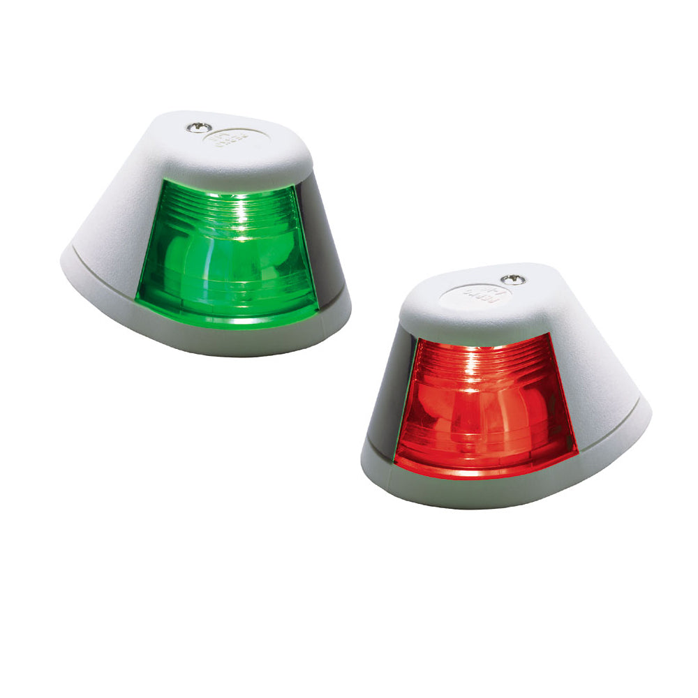 Perko 12V Side Lights - Pair - Horizontal Mount - White [0253W00DP1]