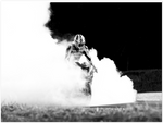 Load image into Gallery viewer, Brian Smith - BMW Bike Burnout (Poster)