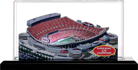Kansas City Chiefs - Arrowhead Stadium 2020 Super Bowl LIV Champions