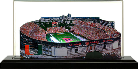 Miami Hurricanes - Orange Bowl Stadium (1937 to 2008)