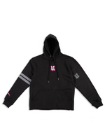 Load image into Gallery viewer, DCDCT Black Hoodie Flat Lay Front View