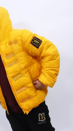 Load image into Gallery viewer, Dreams Embroidery Puffer Jacket