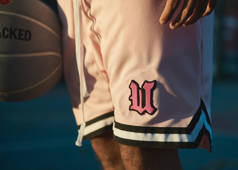 Pink Basketball Shorts